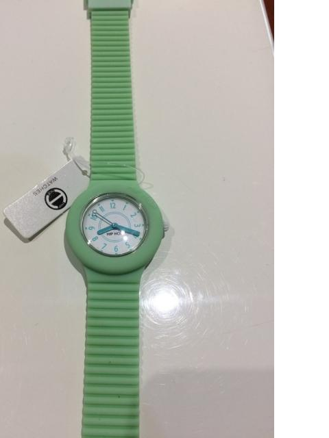 Quadrante 32mm , cinturino in silicone Pastel Green , movimento Miyota 2035, WR 5atm